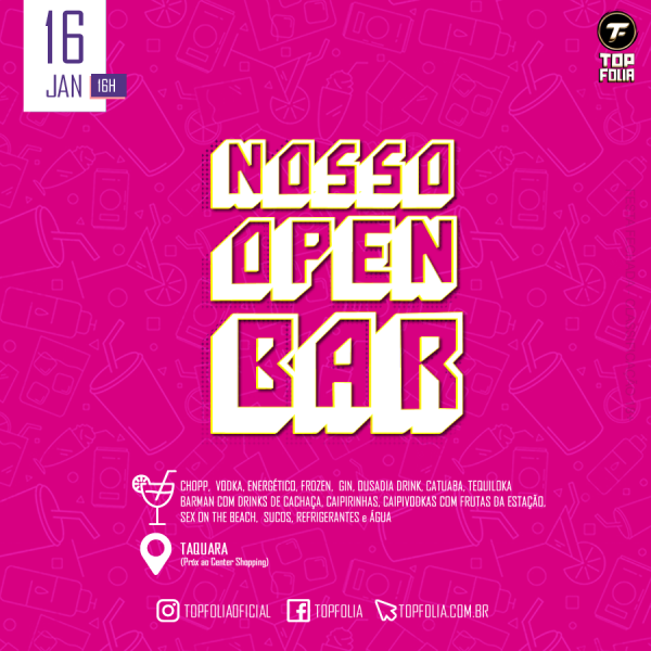 Nosso Open Bar